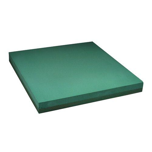 Floral foam plate design sheet floral green 61x61cm 1pc
