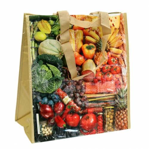 Shopping bag with handles harmony 35 × 18 × 39cm plastic