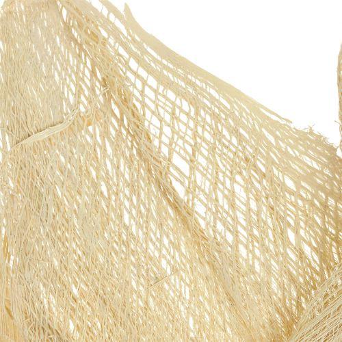 Bleached palm fiber 250g