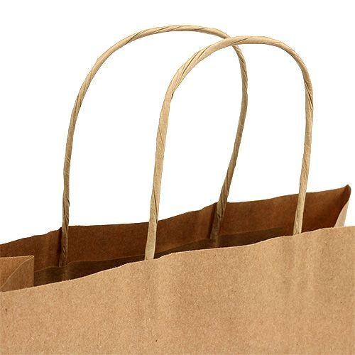 Paper carrier bag 23x12x30cm 50p