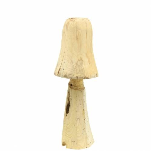 Mushroom Pinewood Ø18cm H35cm
