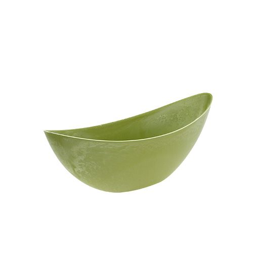 Plastic bowl 39cm x 12.5cm H13cm light green