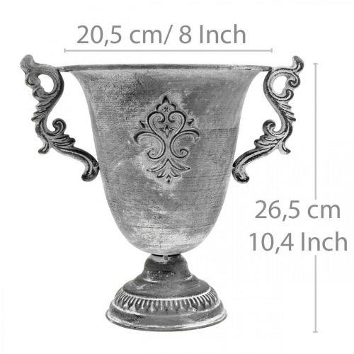 Cup gray Ø20.5cm H26.5cm