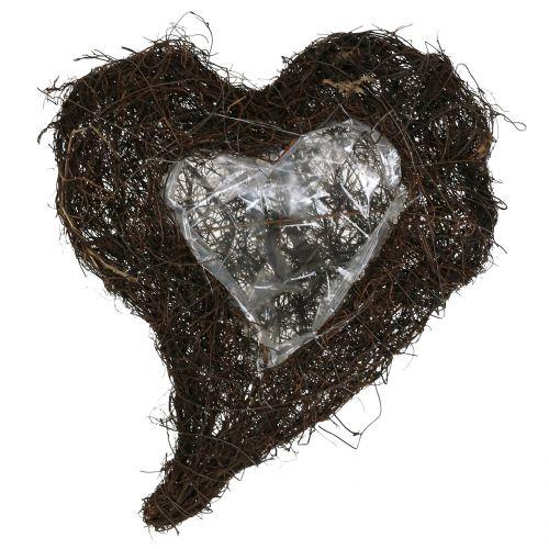Vine heart for planting nature 30cm x 25cm