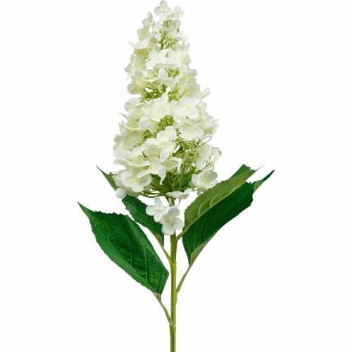Panicle hydrangea creamy white, artificial hydrangea, silk flower 98cm