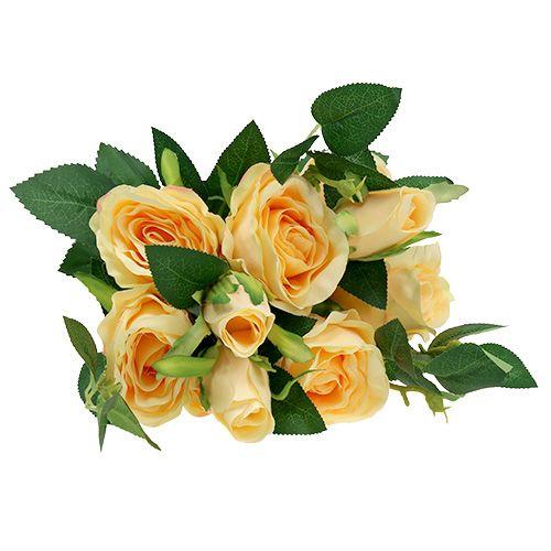 Rose bouquet cream L46cm