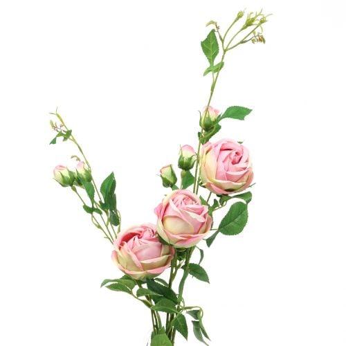 Rose branch pink 100cm