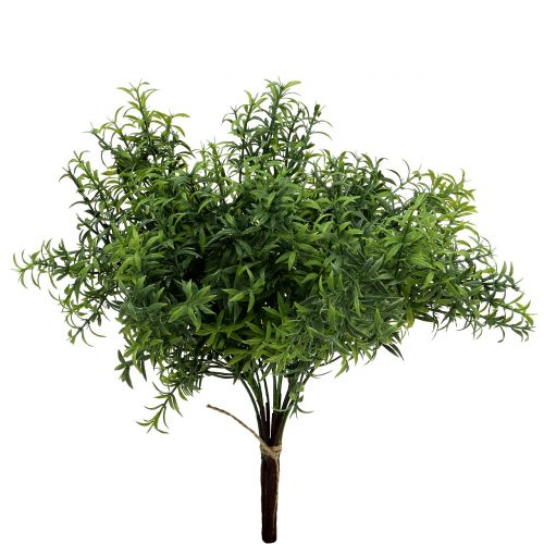 Artificial rosemary branch green 35cm 3pcs