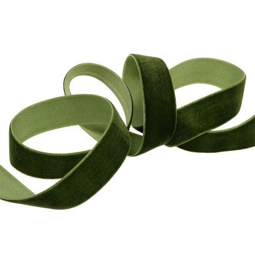 Velvet ribbon different colors 20mm 10m