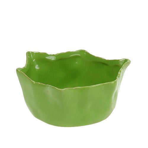 Bowl ceramic in green Ø13cm H6cm