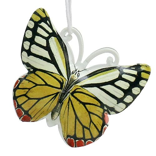 Butterfly for hanging assorted colors 5,5cm 3pcs