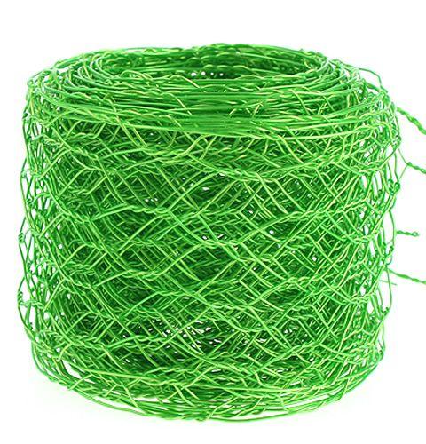 Hexagonal plum apple green 50mm 5m