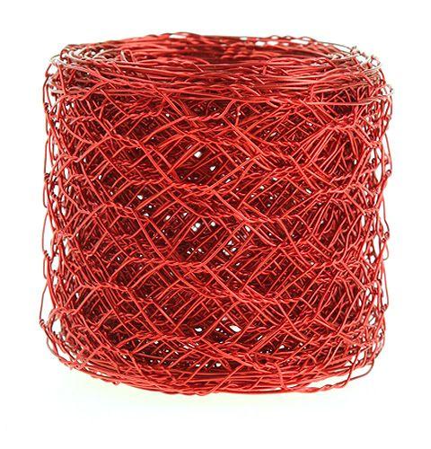 Hexagonal braid 50mm 5m red