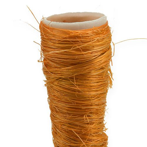Sisal vase orange Ø1,5cm L15cm 20pcs