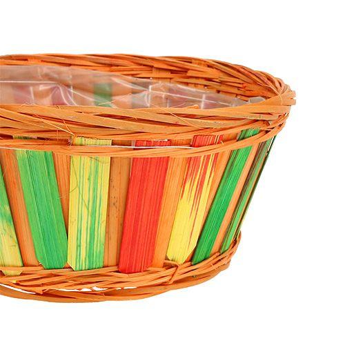 Chipboard round multicolored 12 pcs. Ø 20cm