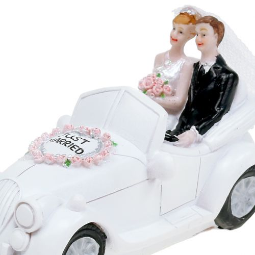 Money box wedding car 14,5cm