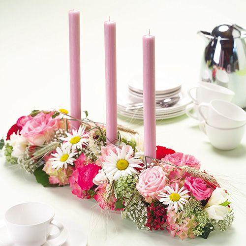 Floral foam decorette Super with adhesive strips 2pcs