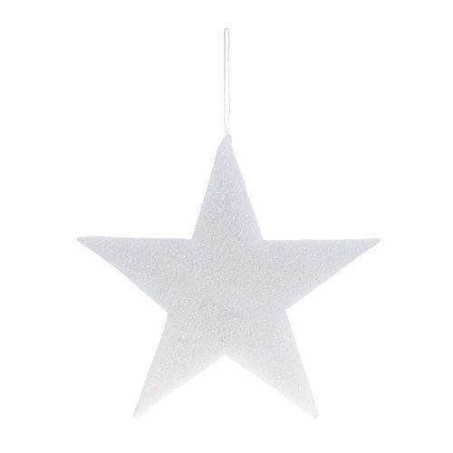 Star for hanging White 37cm L48cm 1pc