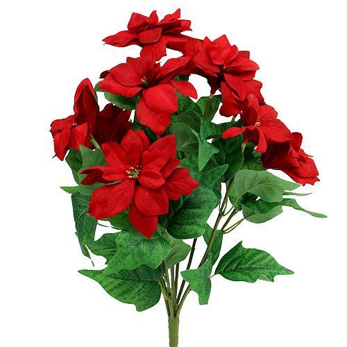 Bouquet Poinsettia Red L47cm
