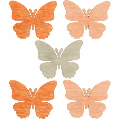 07 Light-Orange Colour 2cm// 50 St Scatter Flowers Foam
