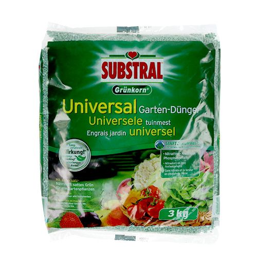 Substral green grain universal fertilizer m. Epsom salt 3kg