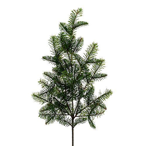 Fir branch artificial green L66cm