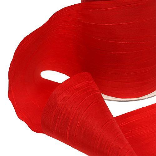 5m x 20mm Organza Ribbon 04 Apple