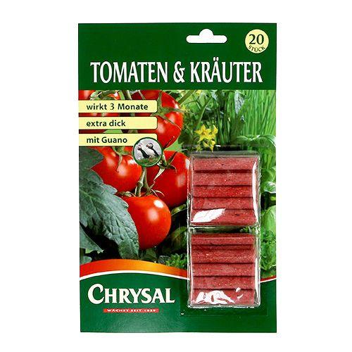 Tomato & herb fertilizer sticks (20pcs.)