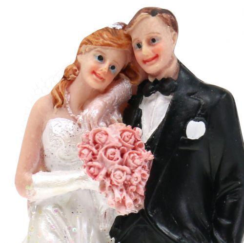 Pie figure bridal couple 13cm