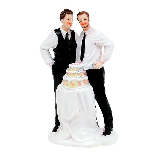 Cake Figurine Couple with cake 16,5cm