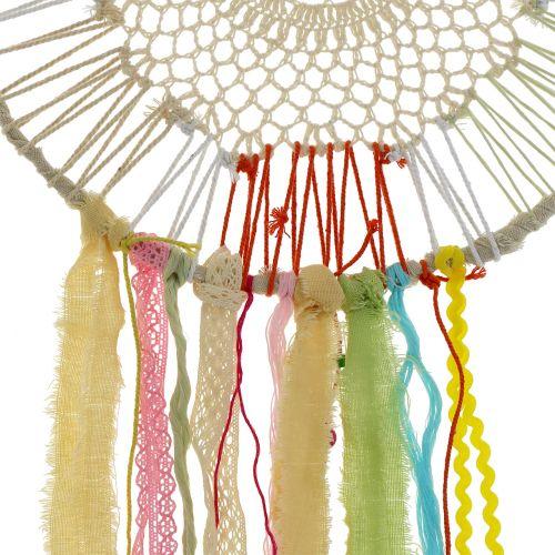Dreamcatcher colorful Ø35cm L105cm