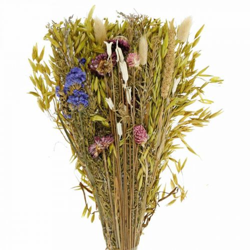 Dried flowers bouquet natural pink 45cm