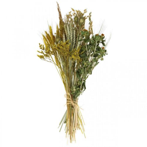 Dried flowers DIY set yellow for drying bouquet 60cm