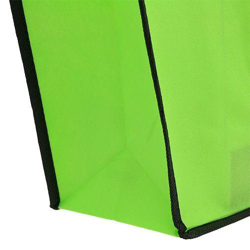 Fleece bag green 38cm x 32cm 1pc