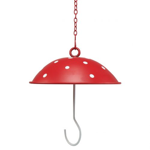 Bird Feeder Fly Mushroom for hanging Ø12cm 1pc