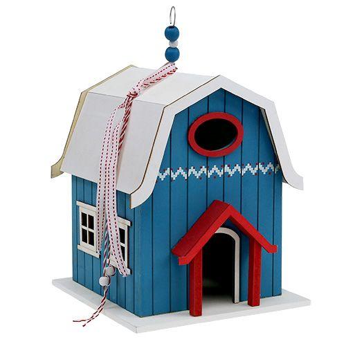 Birdhouse, Dekohaus Blue 21cm x 30cm