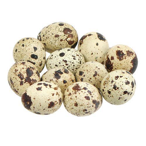 Quail eggs natural 3-3.5cm 12pcs