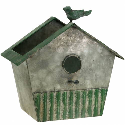 Birdhouse made of metal for planting H25,5cm