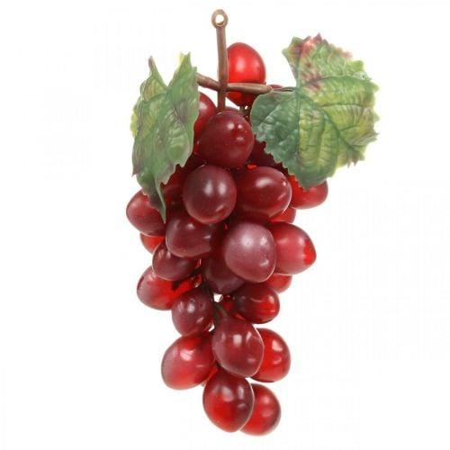 Decorative grapes red Artificial grapes decorative fruits 15cm