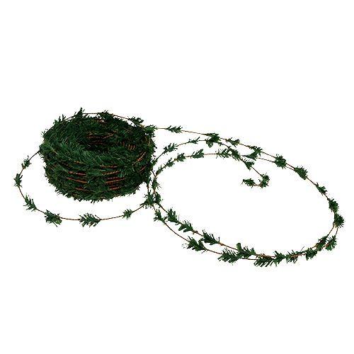 Cedar garland mini green with wire 27m