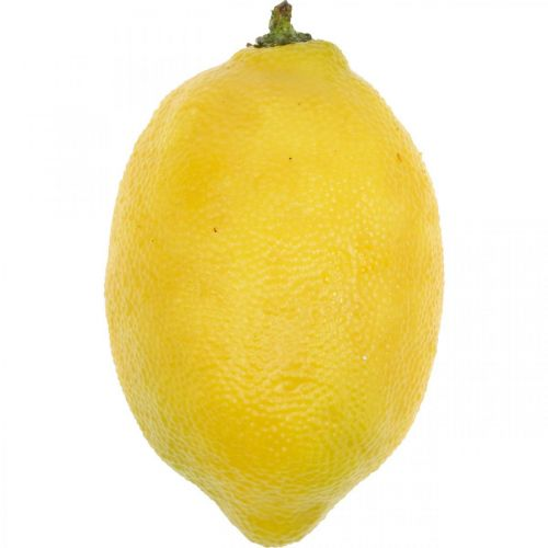 Artificial fruit, lemon, decorative fruits L8.5cm Ø5cm 4pcs