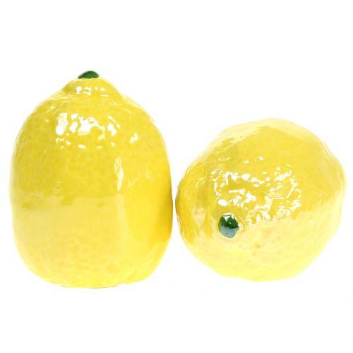 Lemon ceramic 7cm 3pcs
