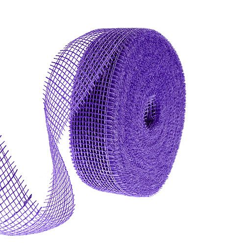 Jute Tape Purple 5cm 40m