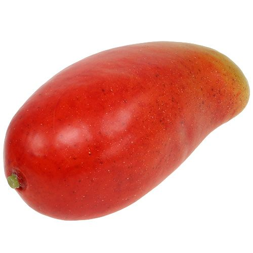 Artificial mango red, yellow 15cm