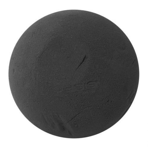Floral foam ball, black Ø20cm