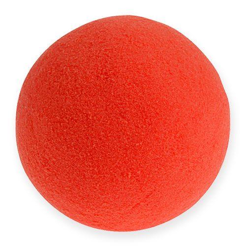 Floral Foam Balls Red 9cm 4pcs