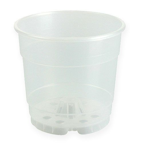 Plant pot for orchids transparent Ø15cm 1p