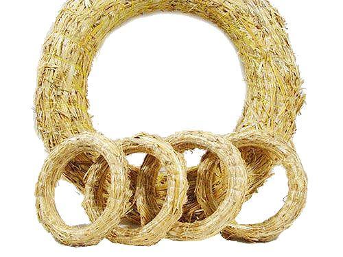 Straw Wreaths Order straw wreath blanks