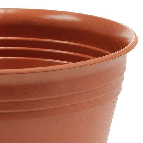 "Planter ""Michele"", terracotta effect, Ø 8.5 - 22cm, 1Pc"
