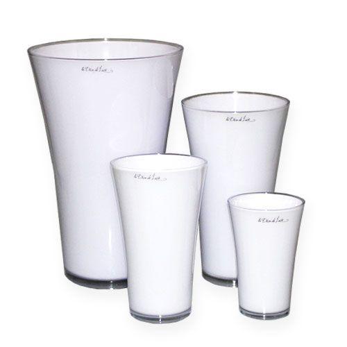 """Vase """"Fizzy"""" White, 1pce"""